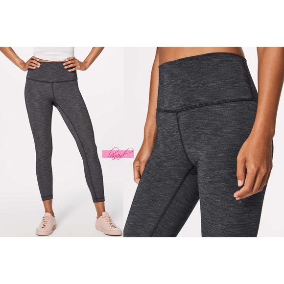 5f5369f562 lululemon athletica Pants - Lululemon Wunder Under High Rise 7/8 Tight Gray  6